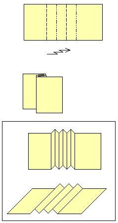 pleat fold origami origami pleat fold