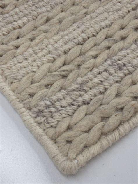 chunky knit rug soft chunky knit textured rug alpine by bayliss