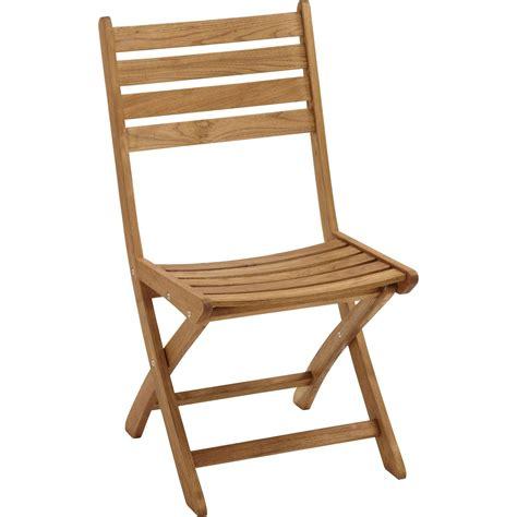 lot de 2 chaises de jardin en bois robin naturel leroy merlin