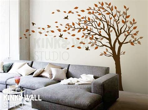 bedroom wall stickers for blowing tree wall decal bedroom wall decals wall sticker
