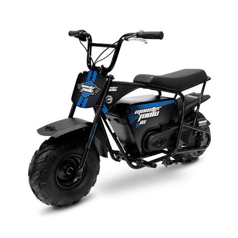 Electric Mini Moto by Moto Classic Blue And Black 1000 Watt Electric