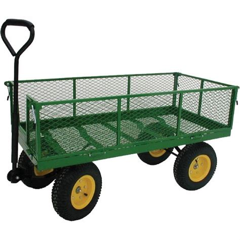 Jumbo Industrial Garden Wagon by Millside   Garden Carts and Wagons ? Carts On The Go