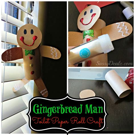 manly craft projects gingerbread toilet paper roll craft for