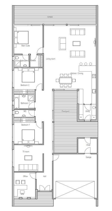 house plans for narrow lots modern house plans narrow lot unique best 25 narrow house plans ideas on new home