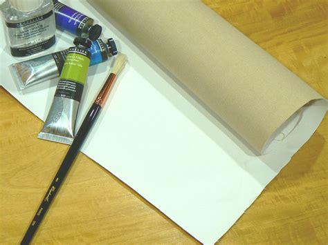 que pintura se usa cuales las telas para pintar artenaturaleza