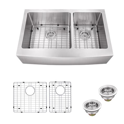 the kitchen sink company ipt sink company apron front 33 in 16 stainless