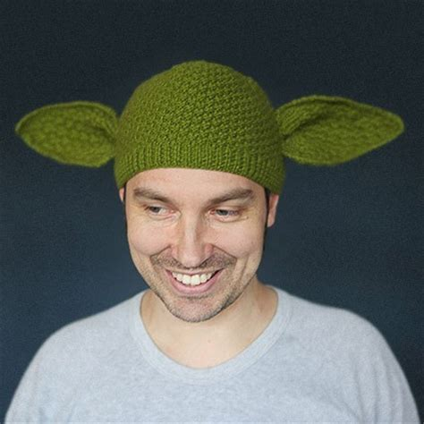 yoda knit hat knitted yoda beanie churchmag
