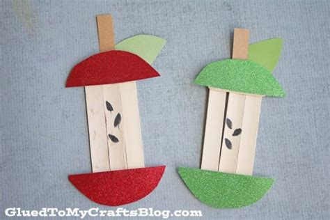 apple crafts for easy fall crafts that anyone can make happiness is