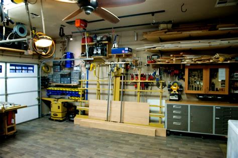 the woodworkers garage rod s garage woodshop the wood whisperer