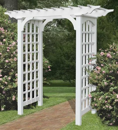 Garden Arbor With Gate Kit Arbors Search Almost Like The Thin