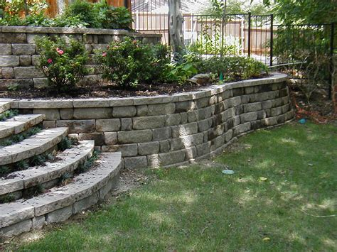 retaining walls for gardens crabapple landscapexperts how crabapple builds your
