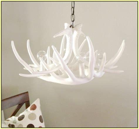 faux antler chandelier white faux antler chandelier white home design ideas