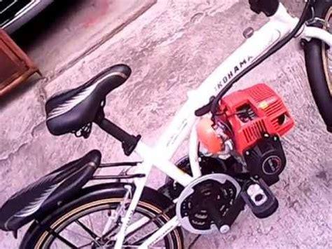 Modip Sepeda sepeda modif mesin 4tak