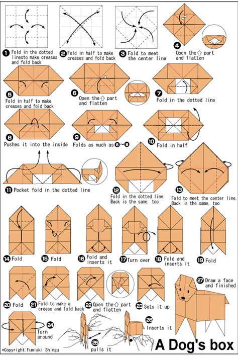 difficult origami diagrams origami