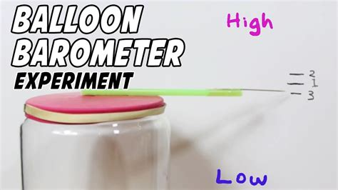 for to make how to make a barometer