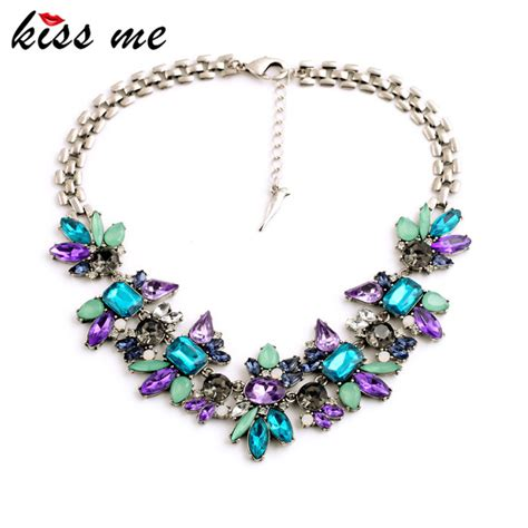 how to make fashion jewelry accessories luxury created flower pendants statement necklace