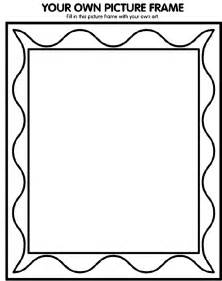 print your own picture book printable picture frames templates your own picture