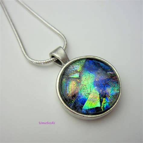 cabochon jewelry breath of fused dichroic glass cabochon jewelry