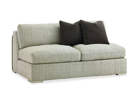 armless sofa slipcovers armless fabric loveseat slipcover with gray color and