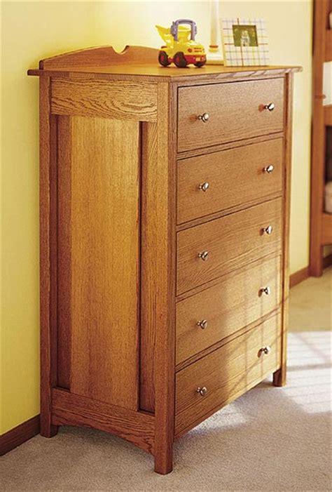 woodworking plans dresser kid s oak dresser woodworking plan from wood magazine