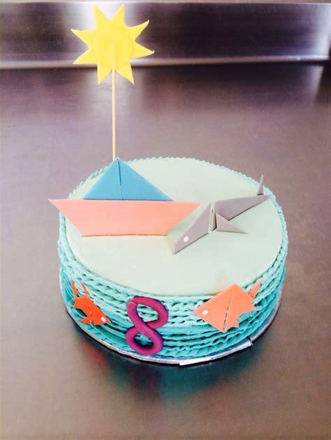 origami birthday cake origami inspired birthday cake collection