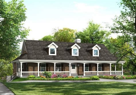 country home plans with porches choosing country house plans with wrap around porch