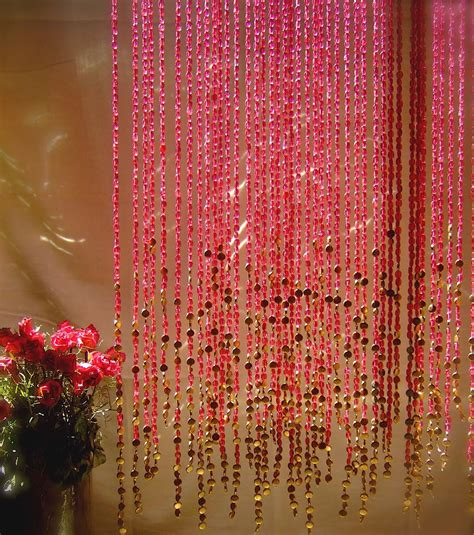 gold bead curtain pomegranate gold beaded curtain memories of a butterfly