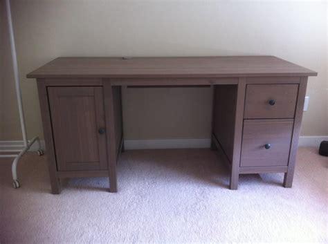 ikea hemnes computer desk ikea hemnes desk grey brown including desk chair