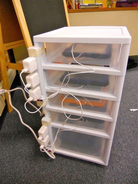 diy chromebook charging station smart house organization ideas