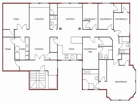 easy floor plans create simple floor plan simple house drawing plan basic house plans free mexzhouse