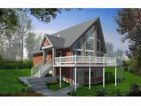 a frame house plans with basement lovely a frame house plans with walkout basement new home plans design