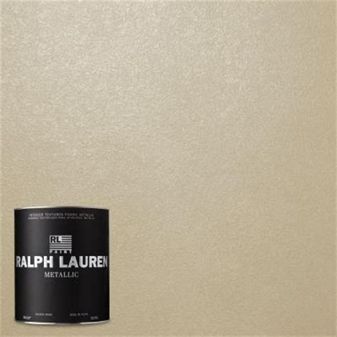 home depot paint colors ralph ralph 1 qt oyster metallic specialty finish