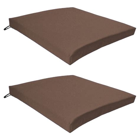seat pads for outdoor furniture multipacks outdoor waterproof chair pads cushions only
