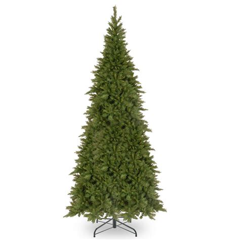 9 ft slim tree home depot national tree company 10 ft fir slim tree tfslh