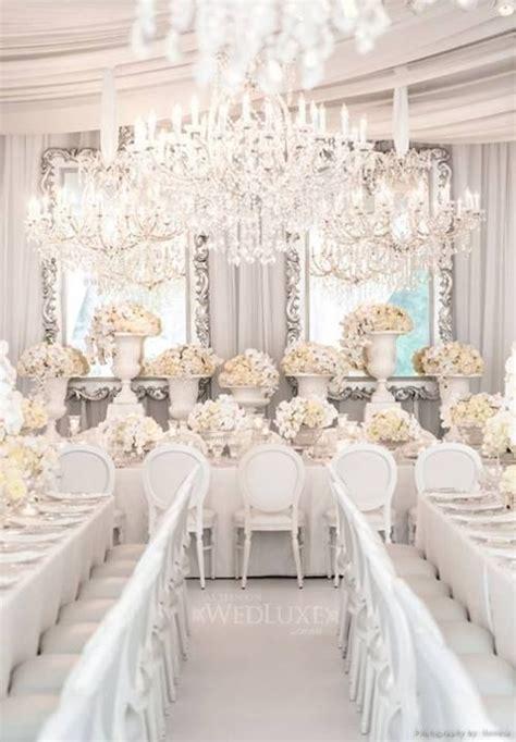 white wedding decoration ideas une d 233 coration de mariage tout en blanc bricobistro