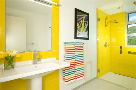yellow tile bathroom ideas unique 30 yellow tile bathroom ideas design