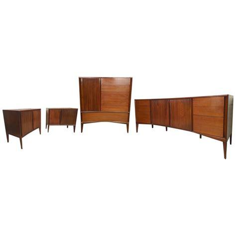 mid century modern furniture bedroom sets impressive mid century modern bedroom set for sale at 1stdibs