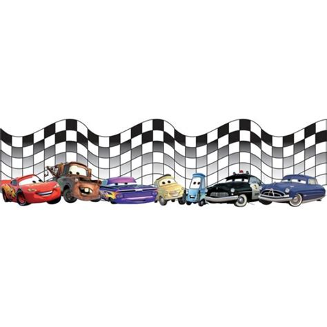 Race Car Wallpaper Border by Checkered Flag Font Cliparts Co