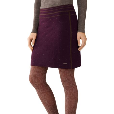 womens knit skirts smartwool mini dot knit skirt s