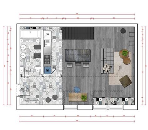 loft floor plan interior design ideas