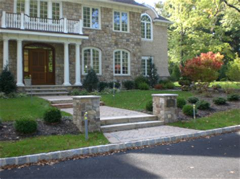 Front Entry blizard landscaping photo gallery walks amp steps