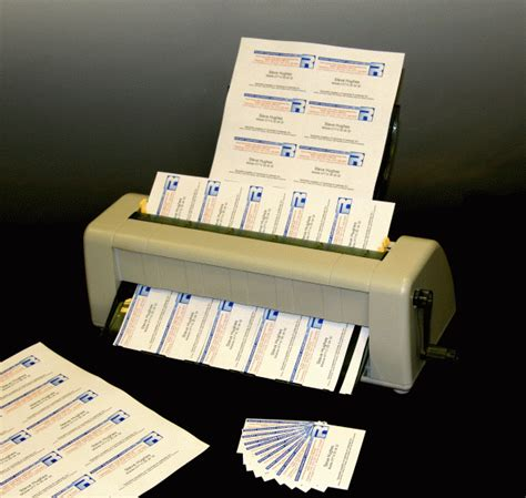 business card machine business card slitter machine images