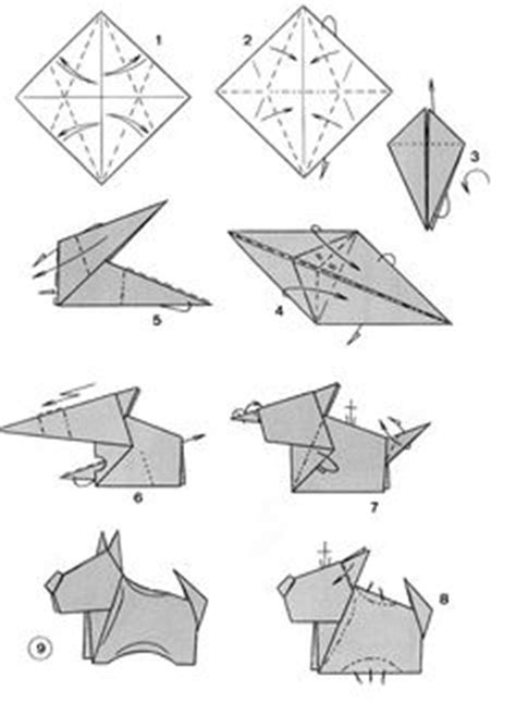 how to make origami dogs 1000 images about origami animals on