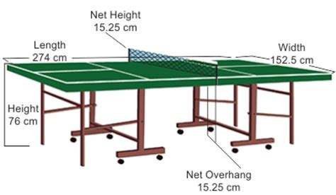 standard size ping pong table everything you need to about ping pong table dimensions