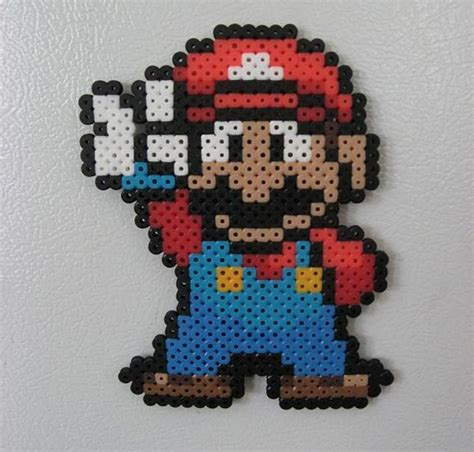 mario perler bead fuse bead patterns patterns gallery