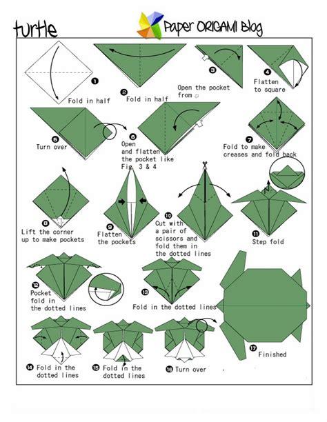 Unique Origami Turtle Origami Paper Origami Guide