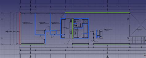 2d Floor Plan In arch tutorial fr freecad documentation