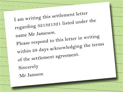 how to make letter card how to write a credit card settlement letter wikihow