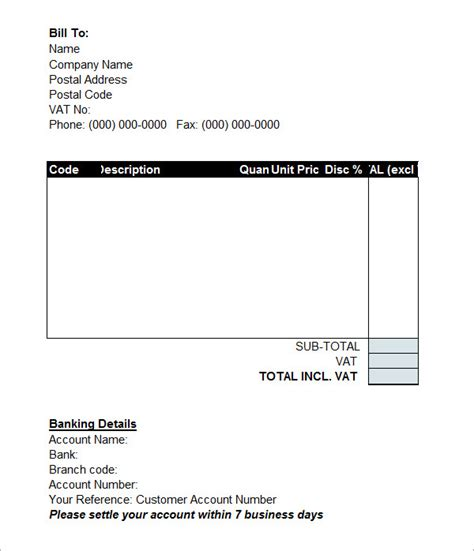 7 proforma invoice templates download free documents in