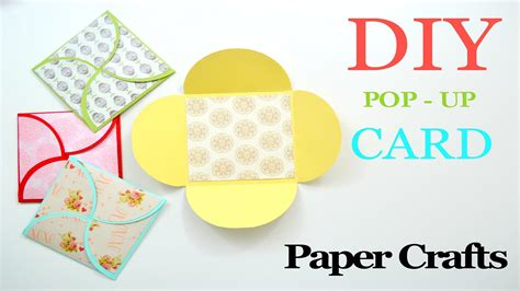 diy crafts with scrapbook paper diy crafts how to make a greeting paper card diy